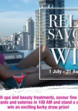 Relax,  Savour & Win A Stay in Amara Bangkok